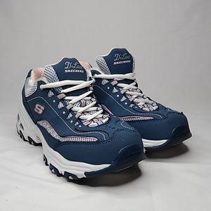 Skechers D'Lites 11860EW Shoes Size 8.5